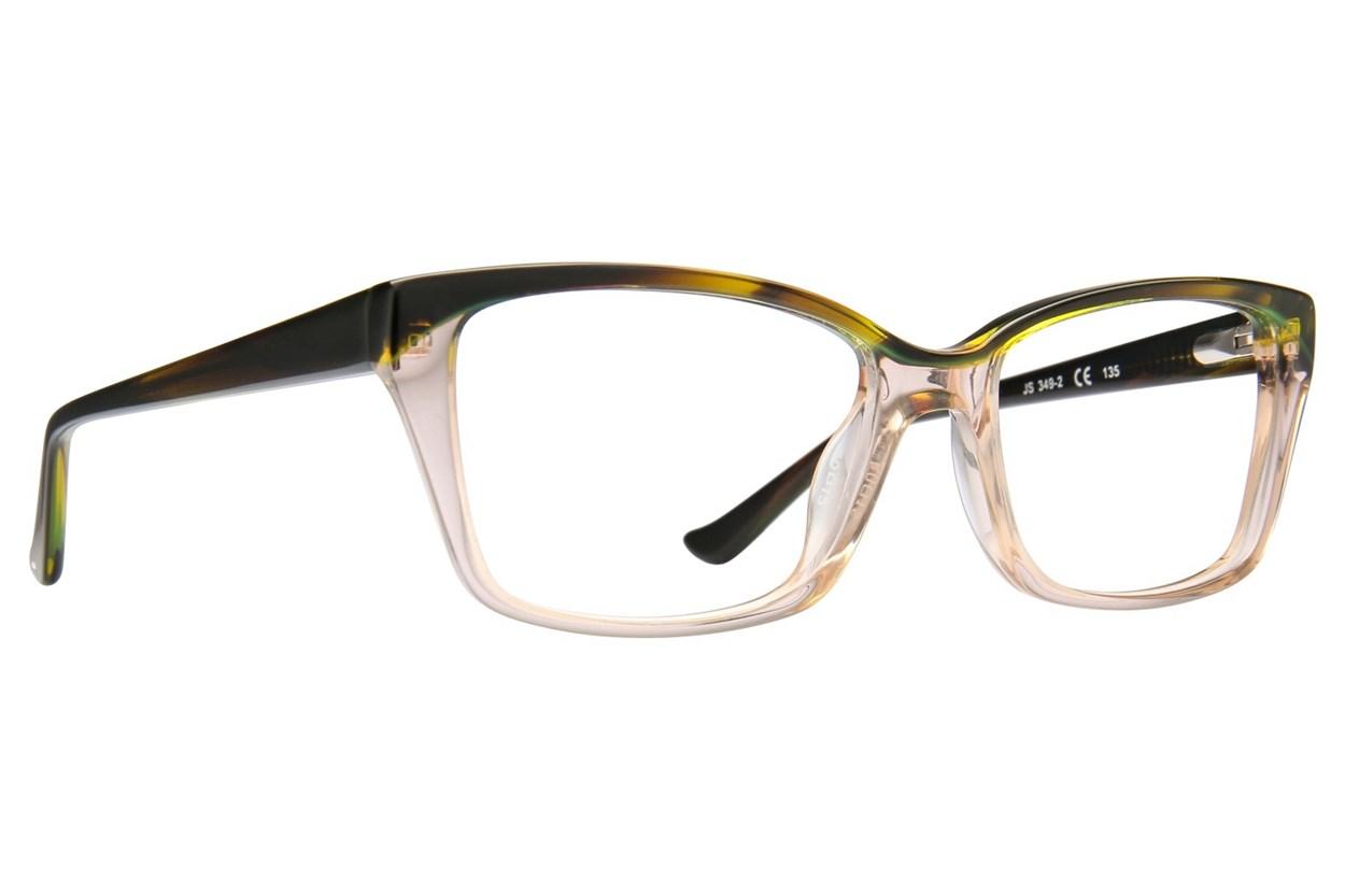 Jill Stuart JS 349 Brown Eyeglasses