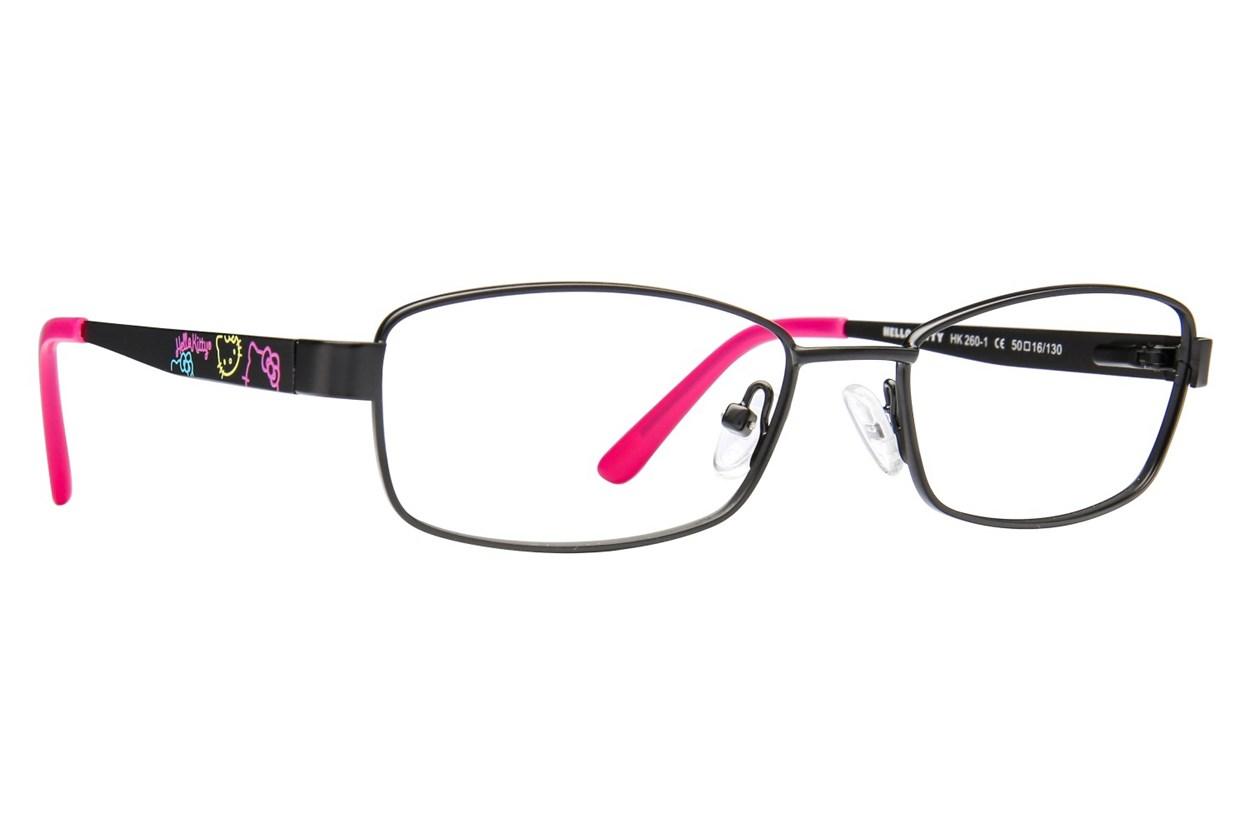 Hello Kitty HK260 Black Eyeglasses