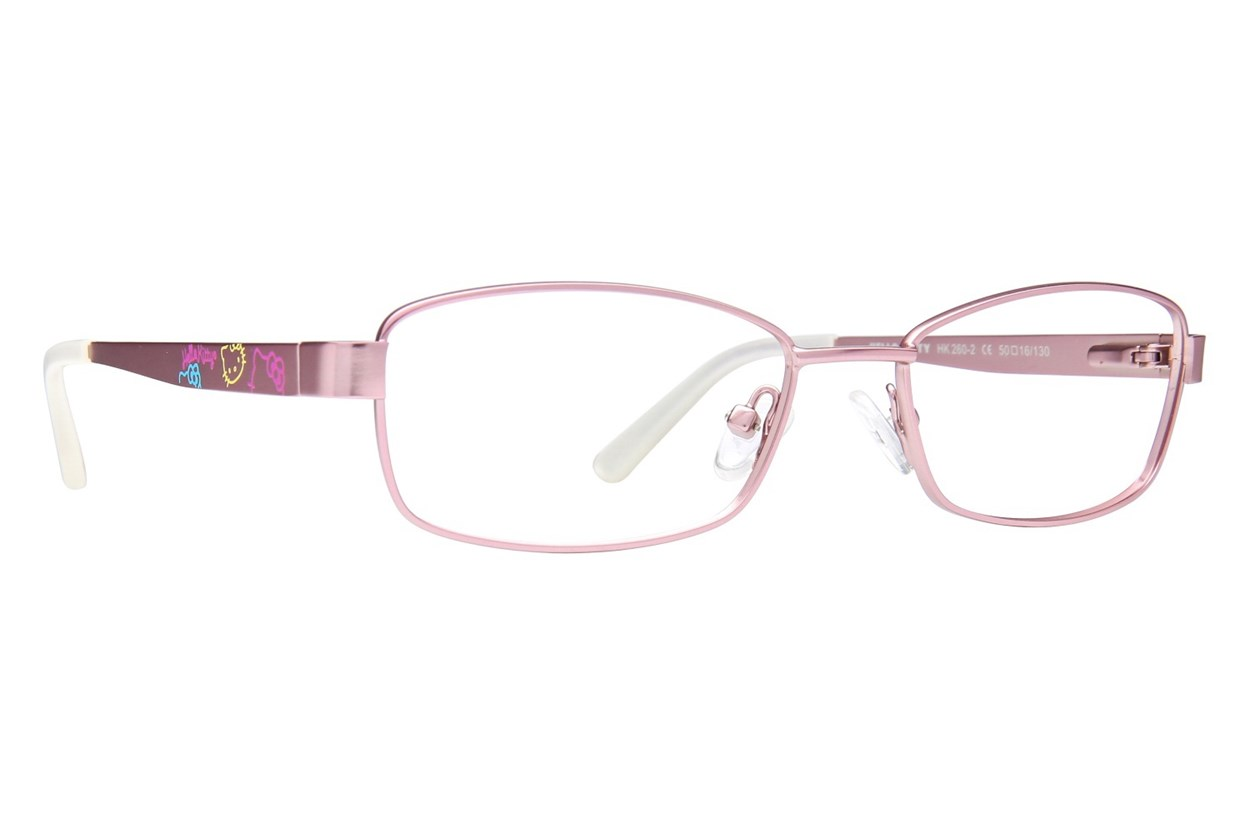 Hello Kitty HK260 Pink Eyeglasses