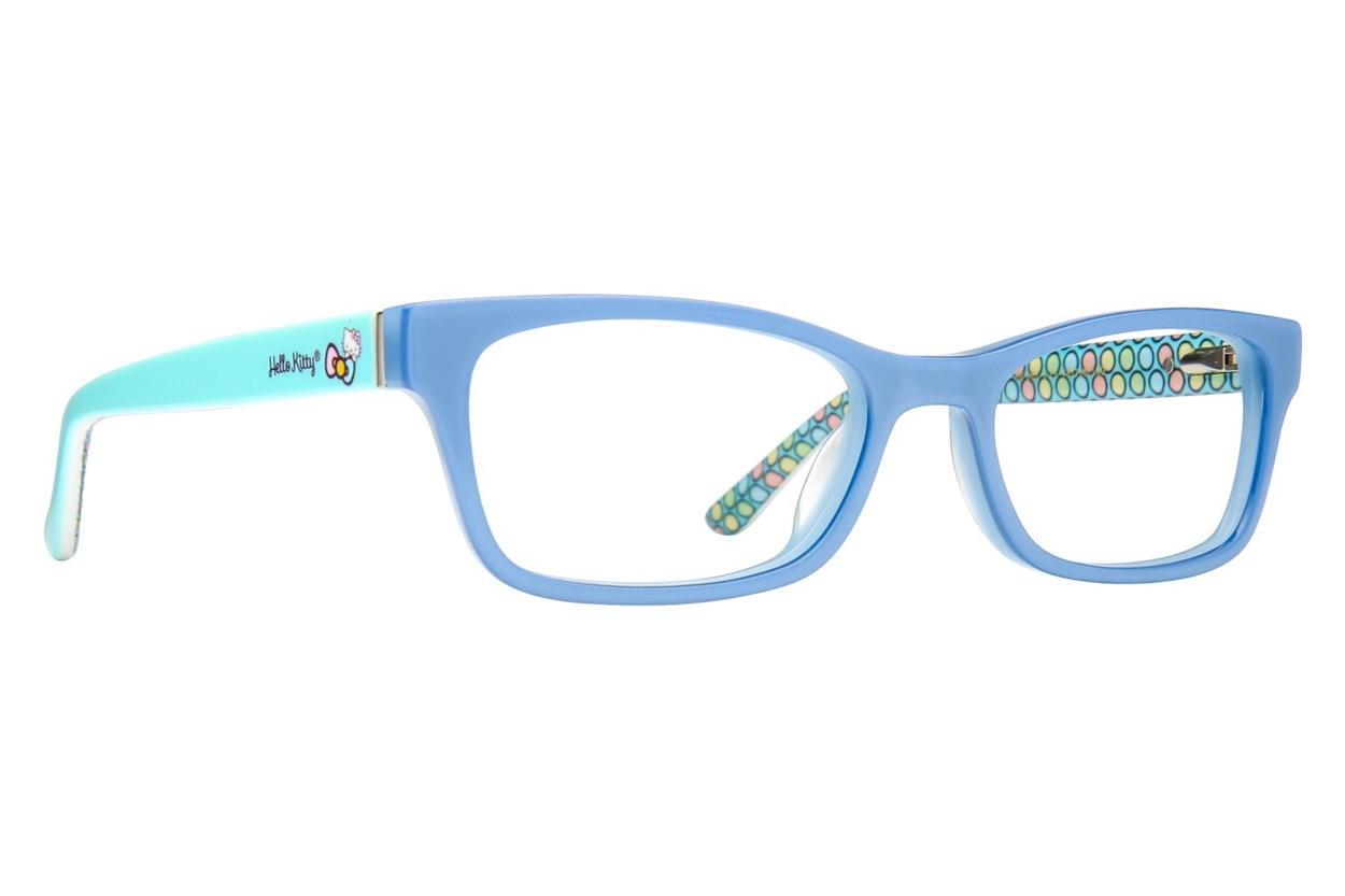 Hello Kitty HK262 Blue Eyeglasses