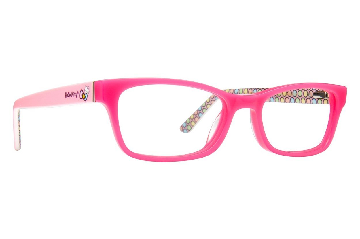 Hello Kitty HK262 Pink Eyeglasses