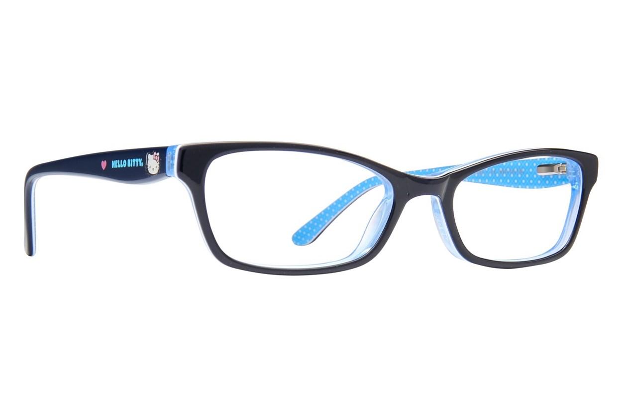 Hello Kitty HK268 Black Eyeglasses