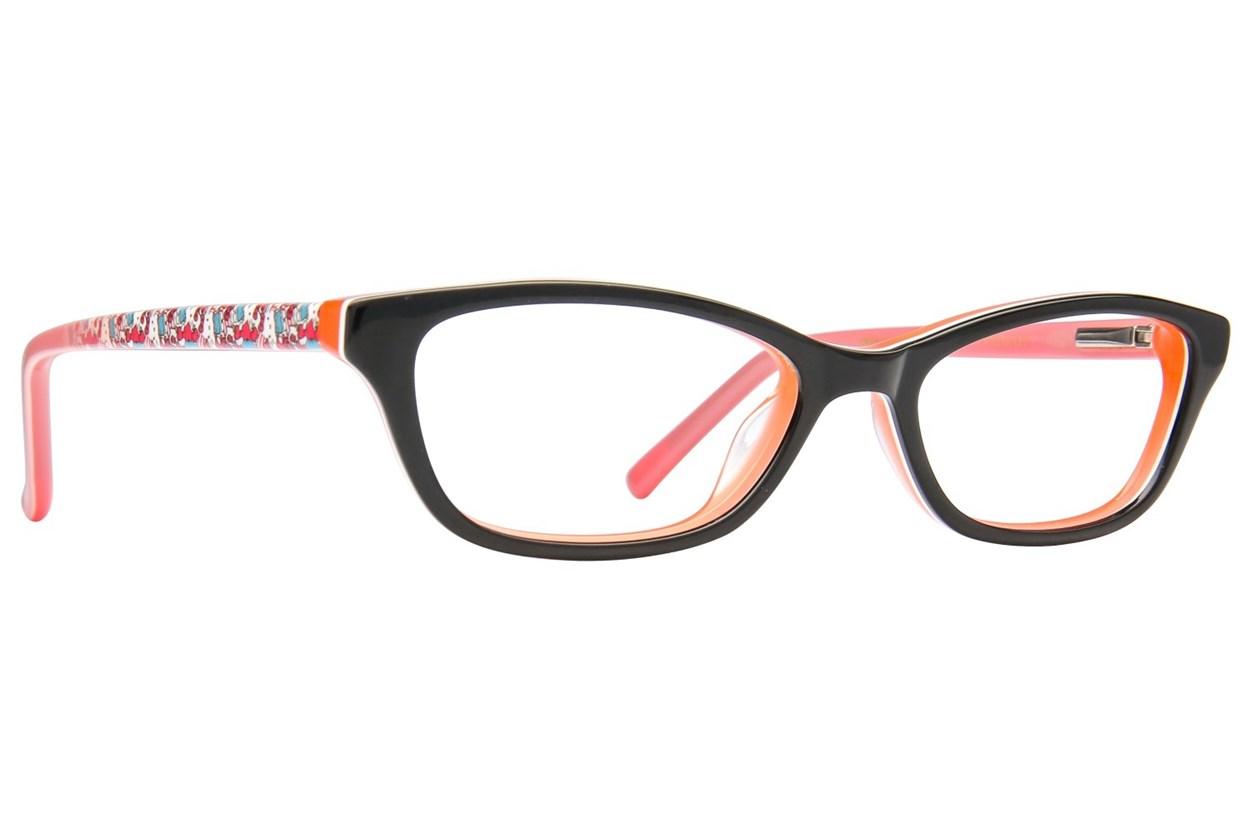 Hello Kitty HK274 Black Eyeglasses