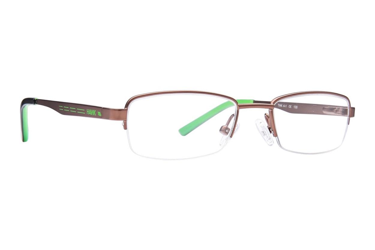 Tony Hawk Kids THK 4 Brown Eyeglasses