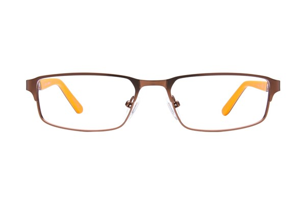 Tony Hawk Kids THK 6 Brown Eyeglasses