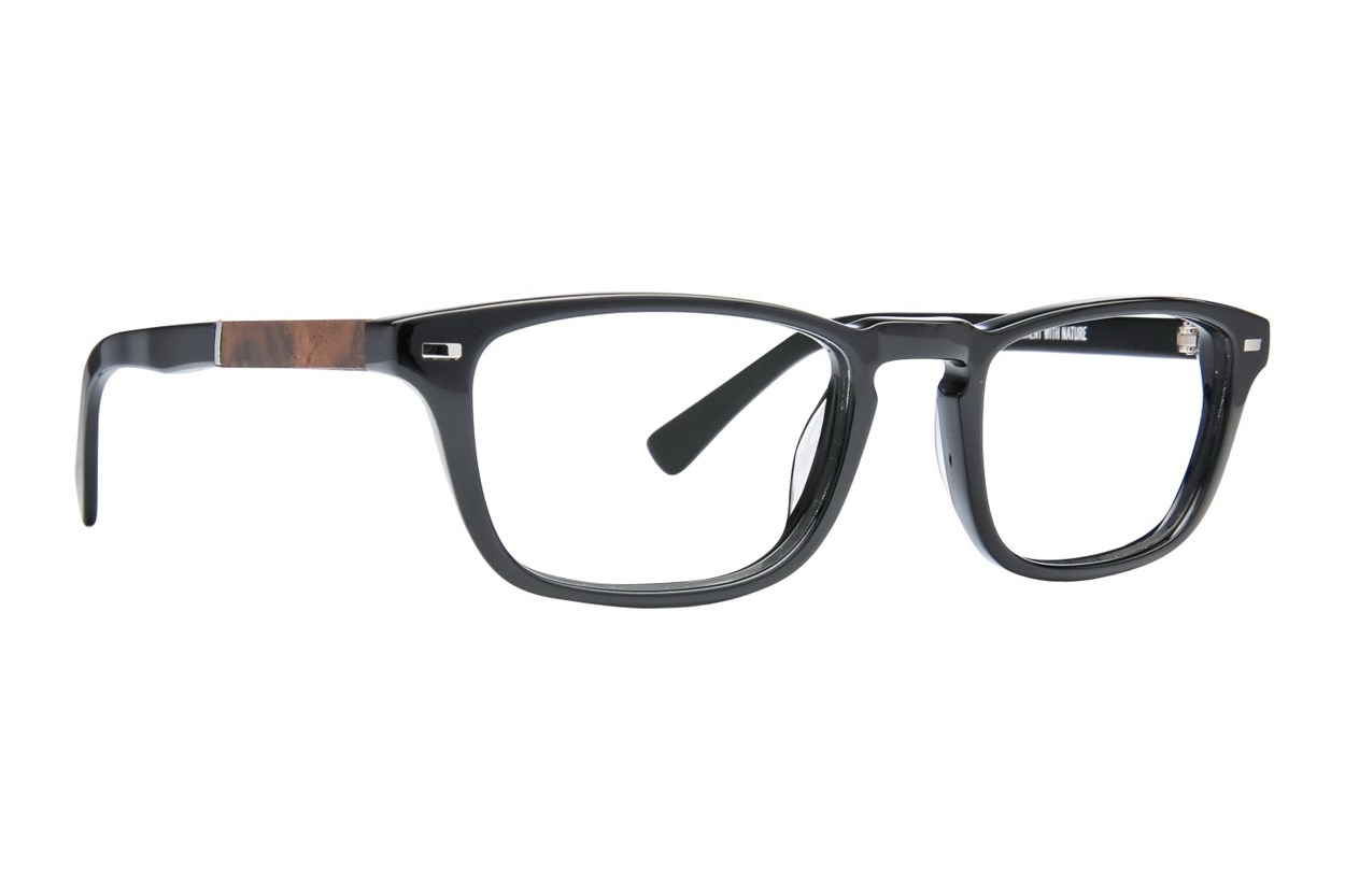 Shwood Astoria Black Eyeglasses