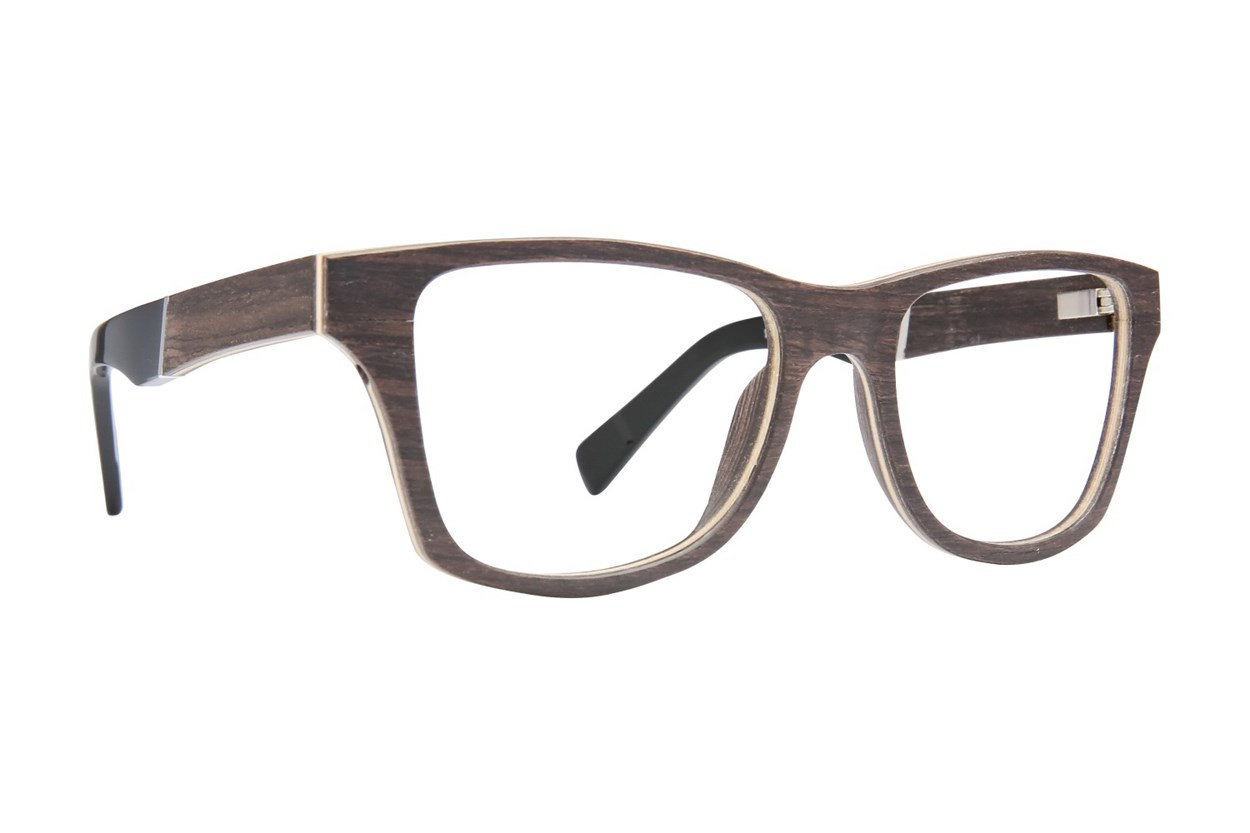 Shwood Canby Wood Eyeglasses - Brown