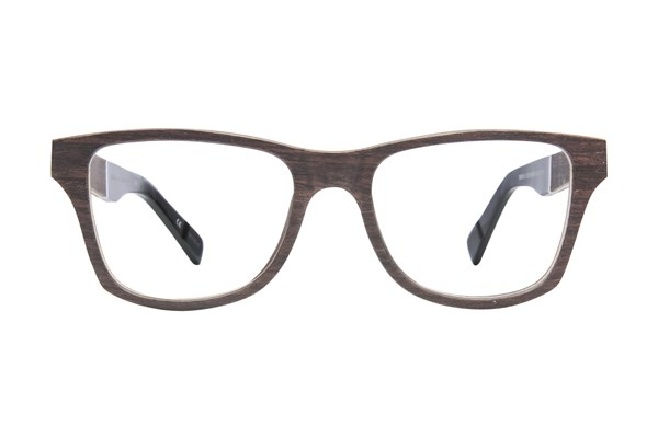 Shwood Canby Wood Brown Eyeglasses