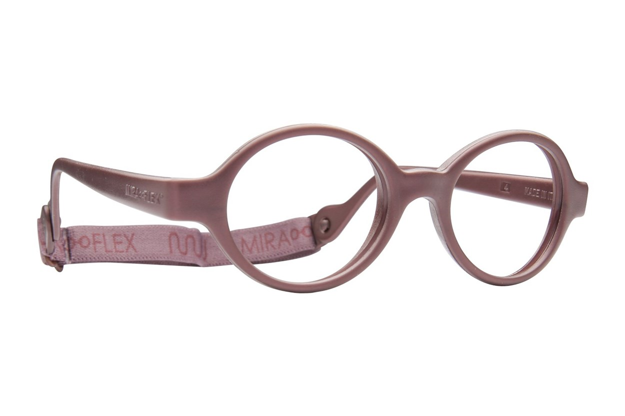 Miraflex Baby Lux (2-5 Yrs) Brown Eyeglasses