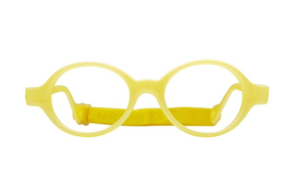Miraflex Baby Lux (2-5 Yrs) Yellow Eyeglasses