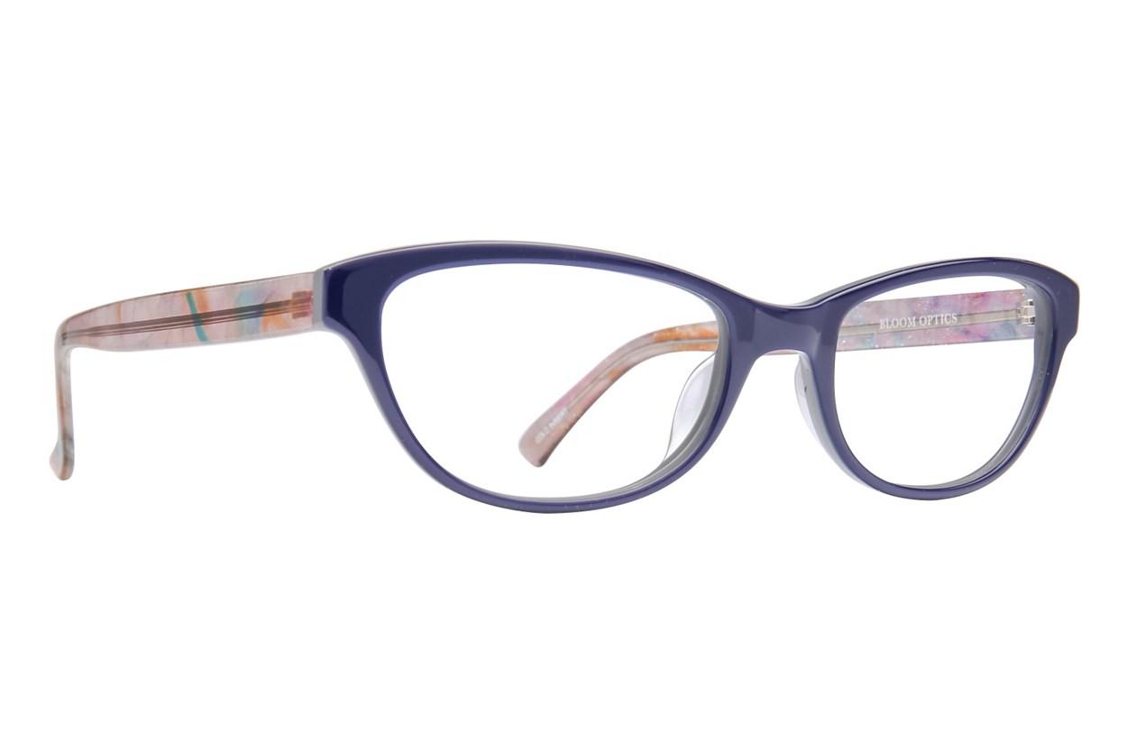 Bloom Optics Petite Charlotte Blue Eyeglasses