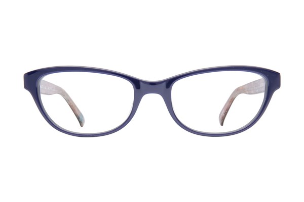 Bloom Optics Petite Charlotte Blue Eyeglasses