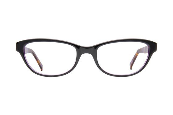 Bloom Optics Petite Charlotte Black Eyeglasses