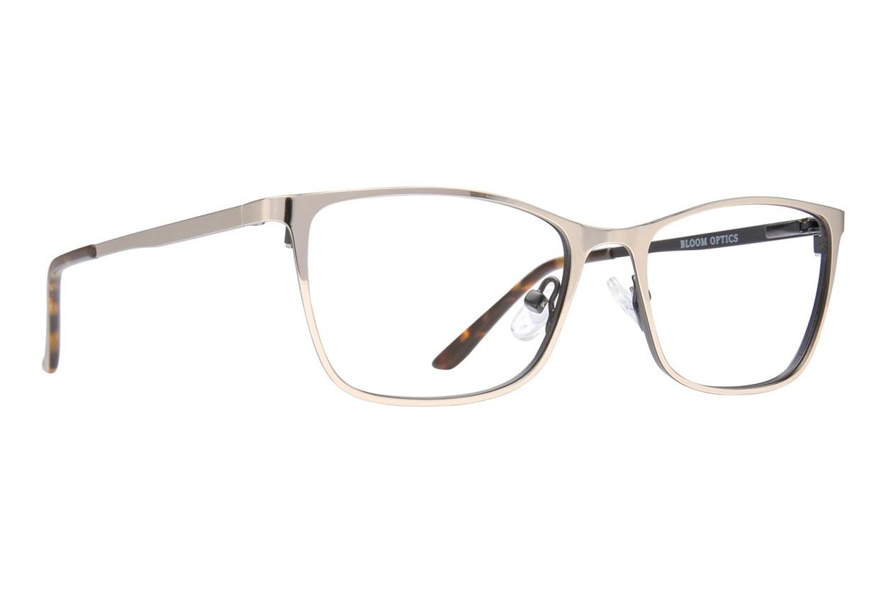 Bloom Optics Petite Ellen Gold Eyeglasses