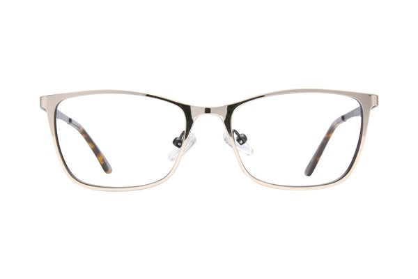 Bloom Optics Petite Ellen Gold Eyeglasses