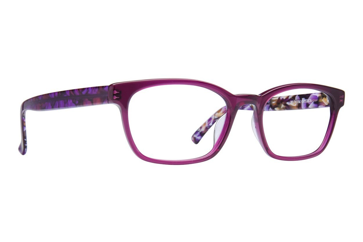 Bloom Optics Petite Lillian Purple Eyeglasses
