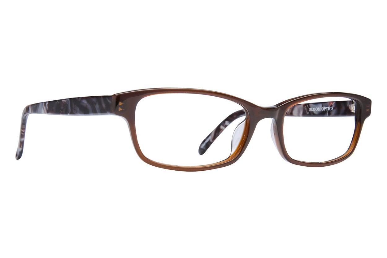 Bloom Optics Petite Paula Brown Eyeglasses