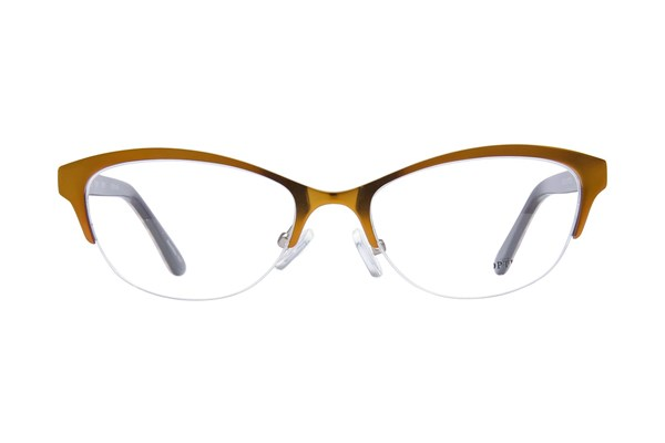 Bloom Optics Petite Rosa Brown Eyeglasses