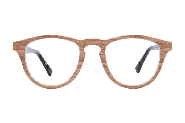 Shwood Francis Wood Brown Eyeglasses