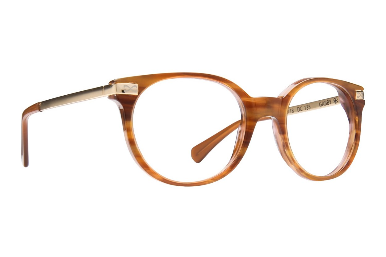 Velvet Eyewear Gabby Brown Eyeglasses
