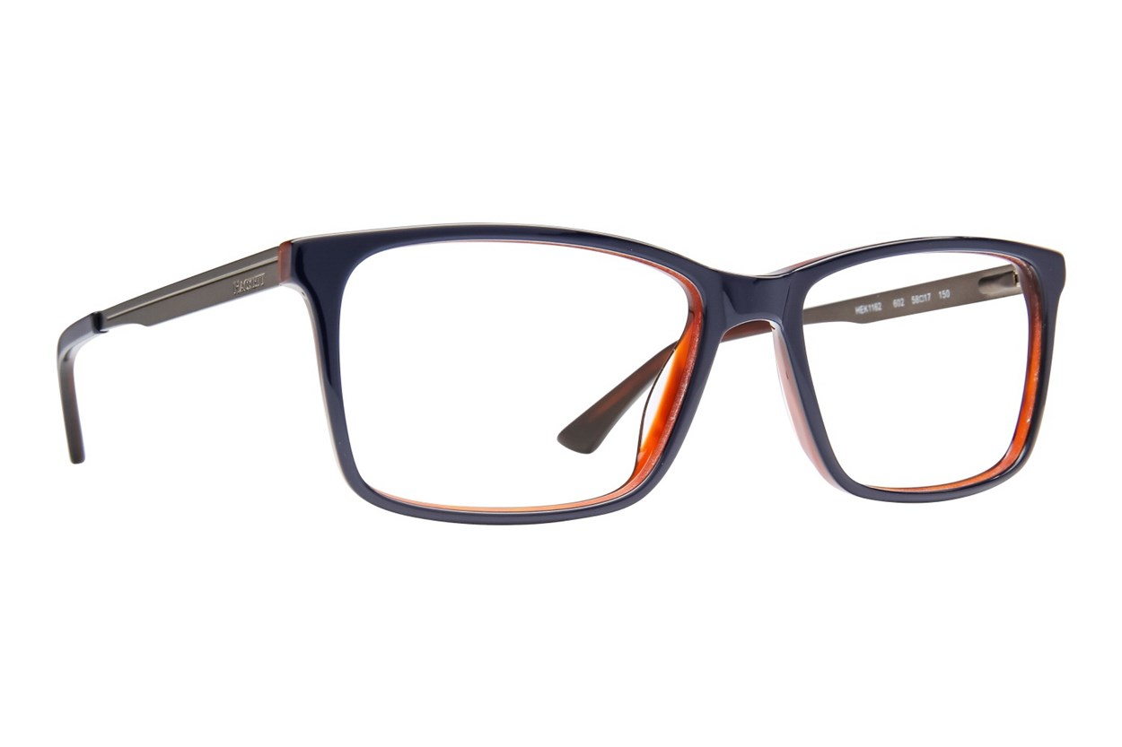 Hackett London Large Fit HEK 1162 Eyeglasses - Blue
