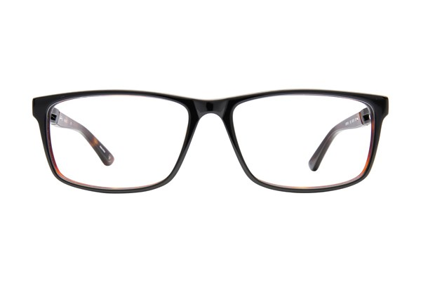 Hackett London Large Fit HEK 1164 Eyeglasses - Black
