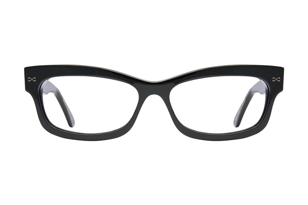 Velvet Eyewear Lauren Black Eyeglasses