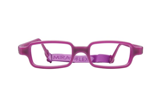 Miraflex New Baby 1 (3-6 Yrs) Purple Eyeglasses