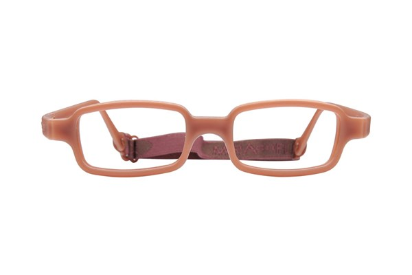 Miraflex New Baby 1 (3-6 Yrs) Brown Eyeglasses