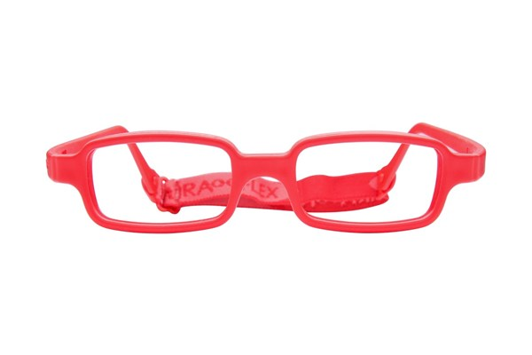 Miraflex New Baby 1 (3-6 Yrs) Red Eyeglasses