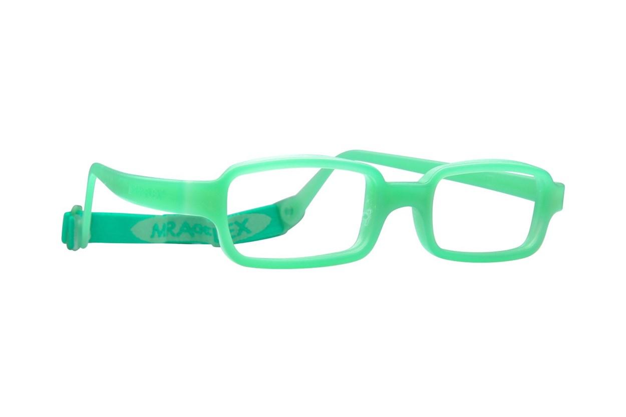 Miraflex New Baby 1 (3-6 Yrs) Green Eyeglasses