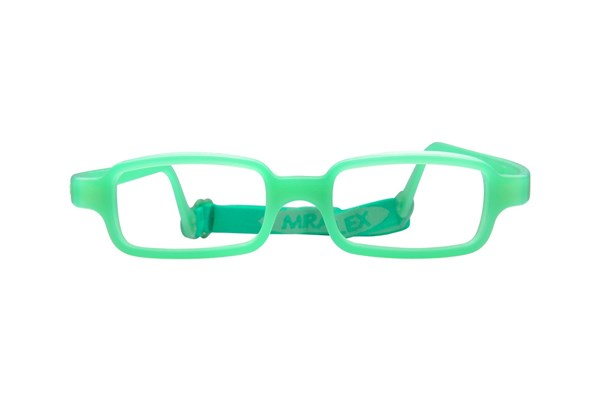 Miraflex New Baby 1 (3-6 Yrs) Green Eyeglasses