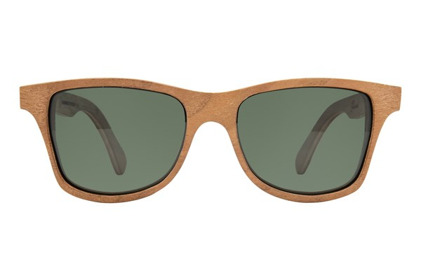 Shwood Canby Seashell Sunglasses - Brown