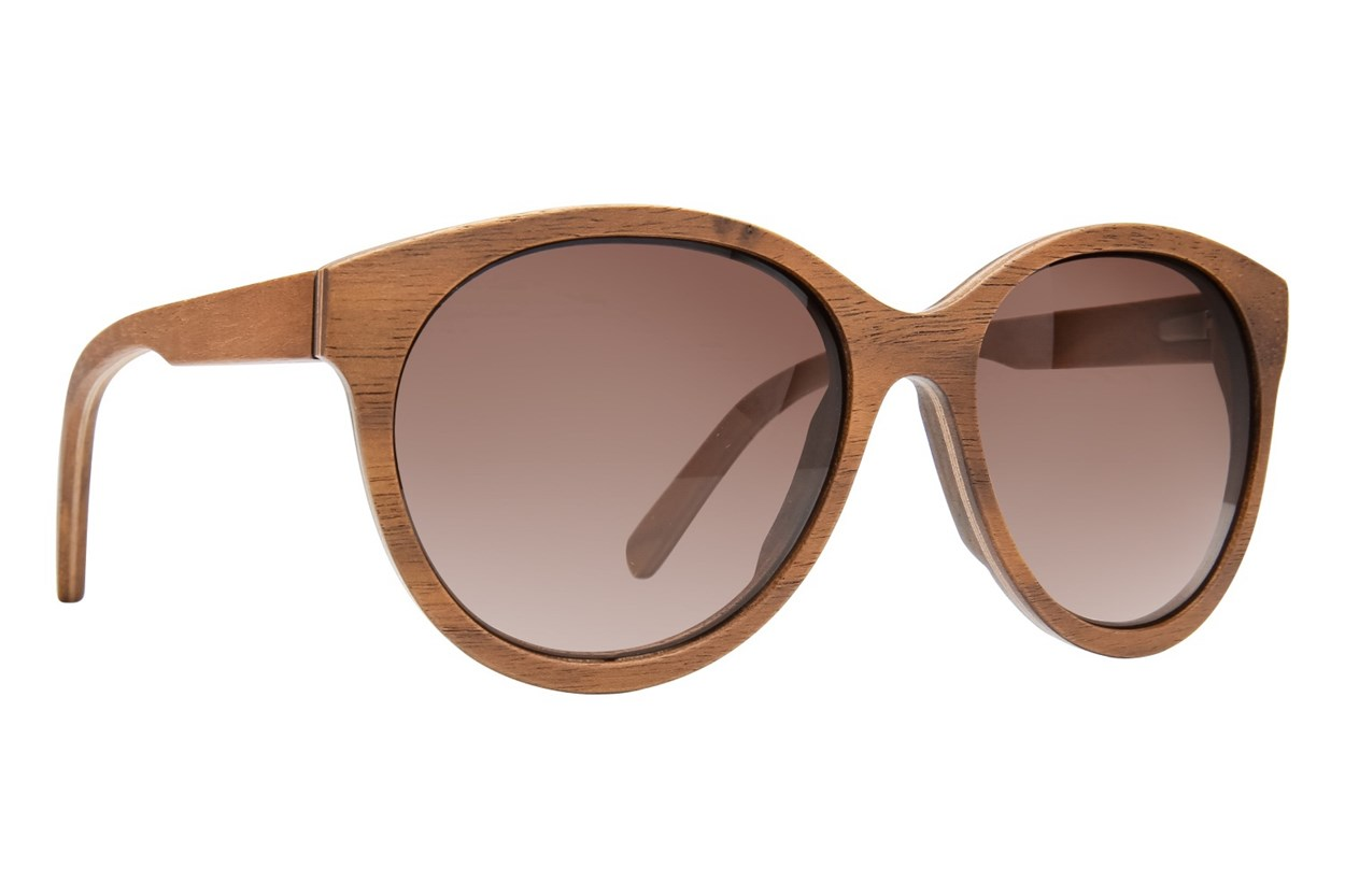 Shwood Madison Wood Sunglasses - Brown