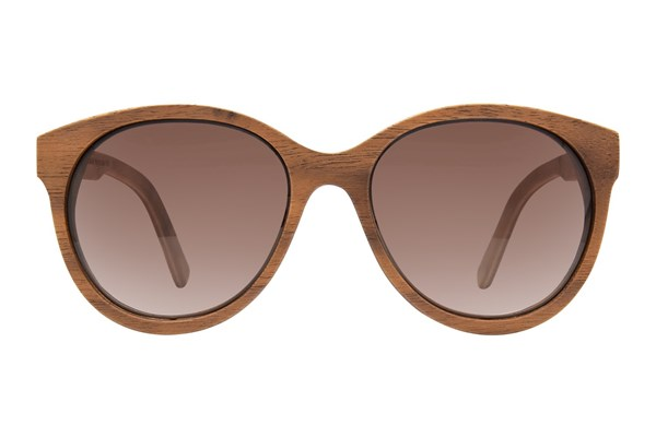 Shwood Madison Wood Brown Sunglasses