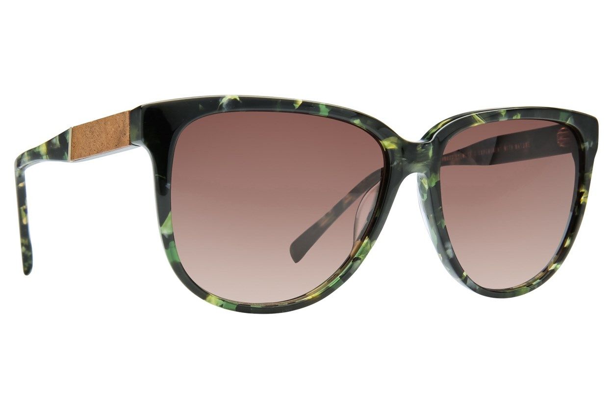 Shwood Mckenzie Green Sunglasses