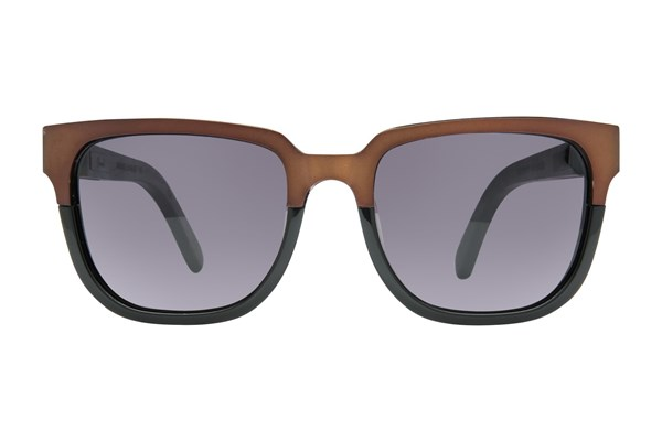 Shwood Prescott Titanium Sunglasses - Brown