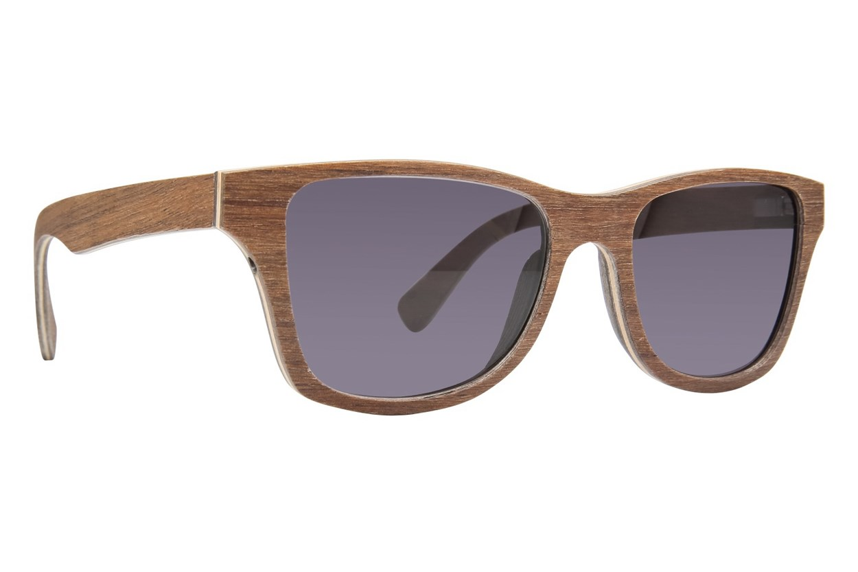 Shwood Canby Wood Sun Sunglasses - Brown