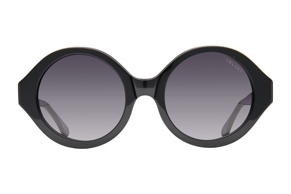 Velvet Eyewear Elaine Black Sunglasses