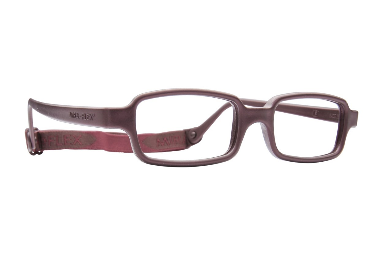 Miraflex New Baby 2 (5-8 Yrs) Brown Eyeglasses