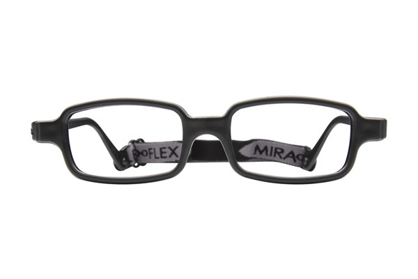 Miraflex New Baby 2 (5-8 Yrs) Black Eyeglasses