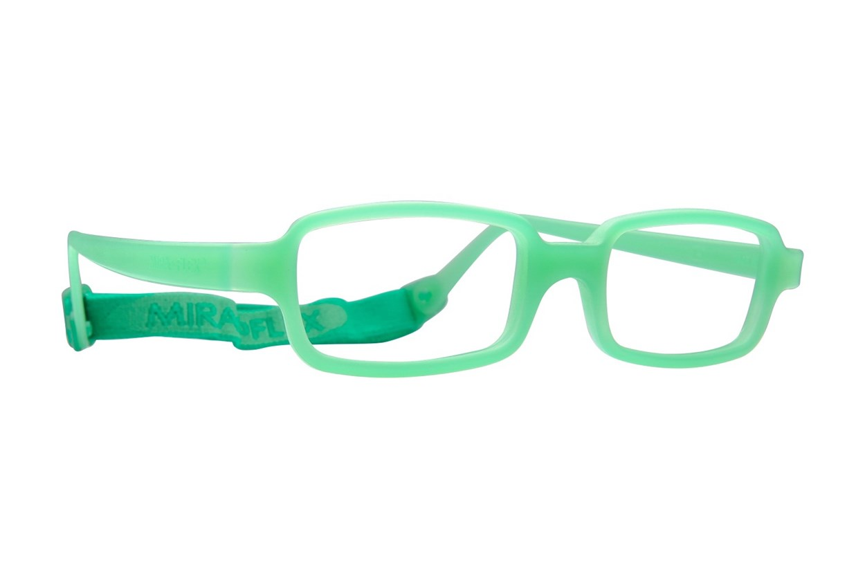 Miraflex New Baby 2 (5-8 Yrs) Green Eyeglasses