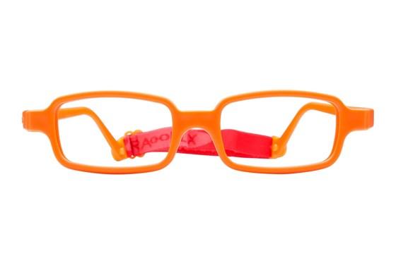 Miraflex New Baby 2 (5-8 Yrs) Orange Eyeglasses