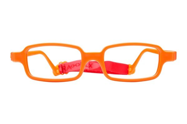 Miraflex New Baby 2 (5-8 Yrs) Eyeglasses - Orange