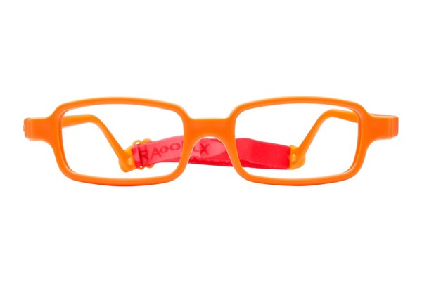 Miraflex New Baby 2 (5-8 Yrs) Orange Eyeglasses