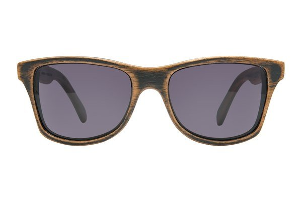 Shwood Canby Wood Dark Brown Sunglasses