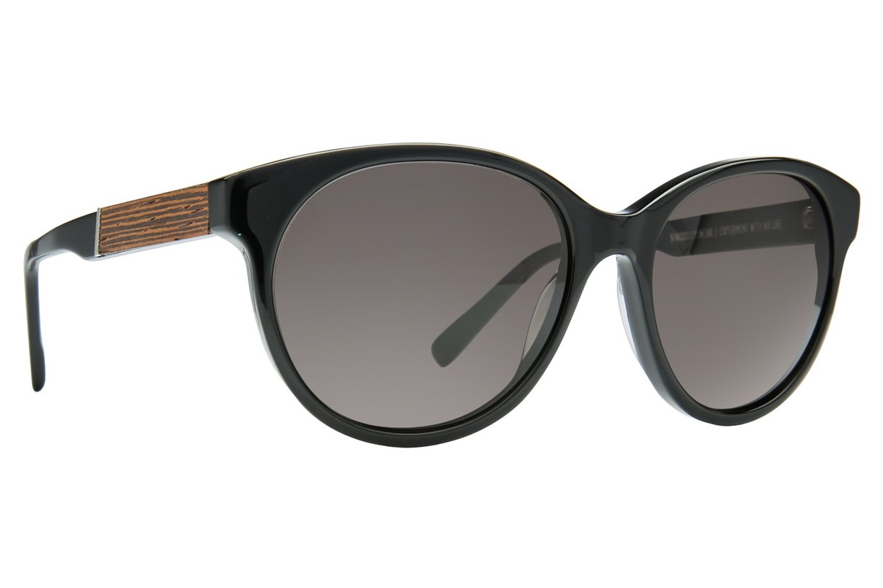 Shwood Madison Sun Black Sunglasses