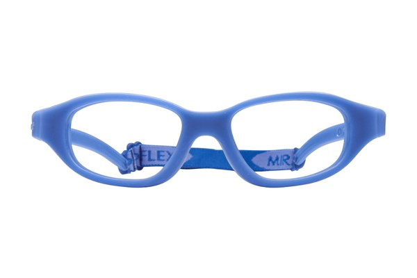 Miraflex Eva (7-10 Yrs) Blue Eyeglasses