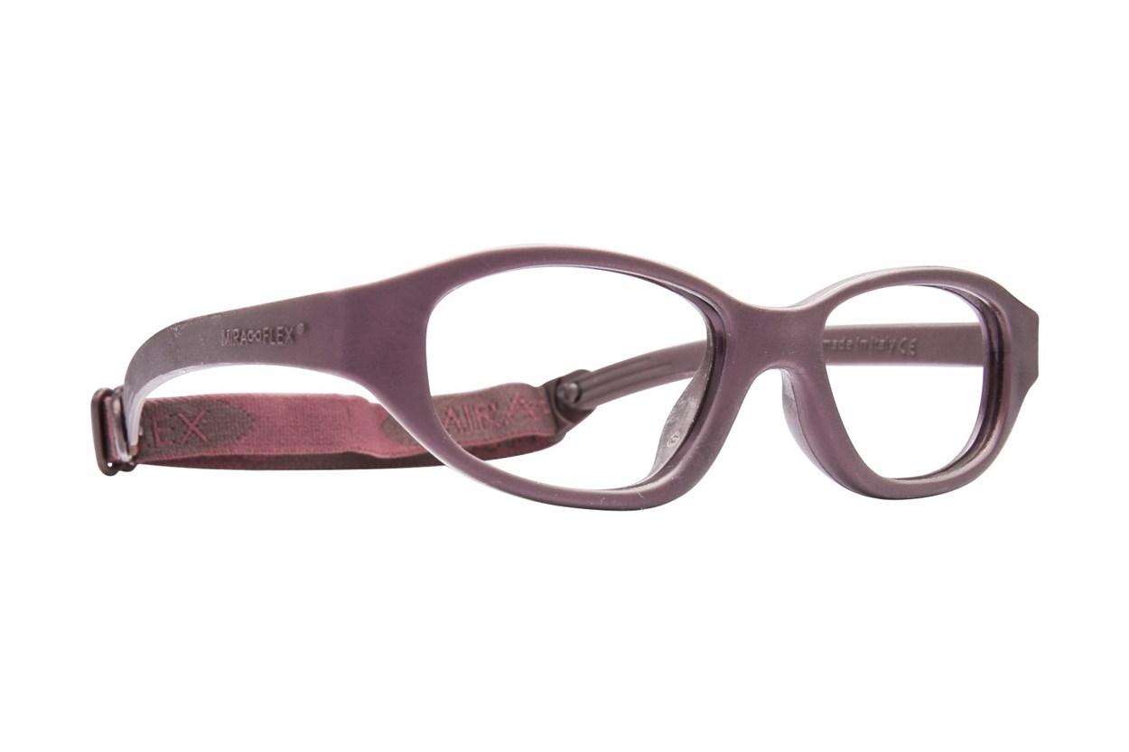 Miraflex Eva (7-10 Yrs) Brown Eyeglasses