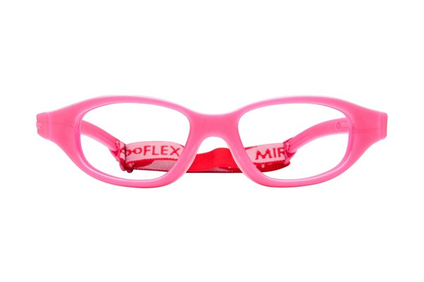 Miraflex Eva (7-10 Yrs) Eyeglasses - Red